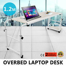 New Movable Adjustable Laptop Computer Desk Table Over Bed Storage Furniture