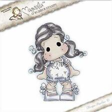 Magnolia Stamps Sakura - Tilda With Ribbon Shoes 4769 - The Rubber Buggy