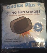 Kiddies Plus Cling Sun Shade For Window 2 pack New!!!