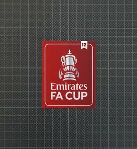FA Cup Emirates Football Patch/Badge 2020-2021 12 Times Winner Manchester United