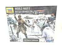 Zvezda World War 2 II Battle of Moscow 1941 Historical Wargame Board Game SEALED