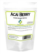 Acai Berry 2X Strength 1000mg Weight Loss Capsules (60 pack) UK Made