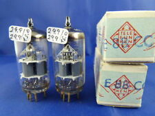 Matched Pair E88CC/CCa Telefunken <> # NOS/NIB # oldest production (10300h)