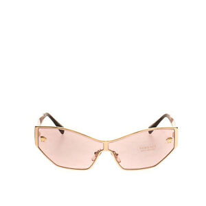 RRP €310 VERSACE Butterfly Sunglasses Medusa Logo Tinted Lenses Made in Italy