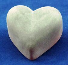 Dekoherz - Herz aus Glas in rot satiniert - AE 251