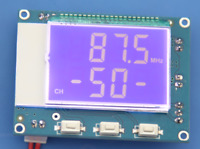 Digital LCD FM Radio Stereo Receiver Module + Remote 5W Power Amplifier