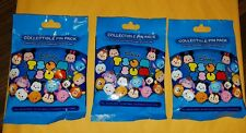 Disney Pins Character Tsum Tsum Series 1 Mystery Packs 3 Packs SEALED