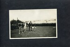 C1930's Photo Postcard Of Family Playing Pitch And Putt.