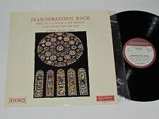 J.S. BACH Oevres Pour Orgue LP Musidisc 30RC805 Werner Simons Organ Classical