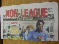 19/07/2015 The Non-League Paper: Issue No 799. Footy Progs/Bobfrankandelvis, exp