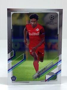 TOPPS CHAMPIONS LEAGUE CHROME 2020-2021 Karim Adeyemi FC Salzburg ROOKIE #99