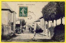 cpa Village de DOLOMIEU (Isère) QUARTIER du SIBUET Animée Café Restaurant DURAND