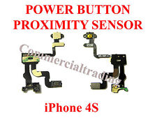 POWER BUTTON LIGHT PROXIMITY SENSOR FOR APPLE IPHONE 4S 821-1467-A Flex Cable