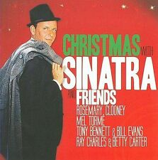NEW Christmas With Sinatra & Friends; Frank Sinatra 2009 CD, Xmas, Holiday Music