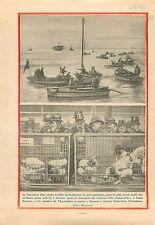 Navire Croiseur-Ecole Jeanne-d'Arc à Saint-Nazaire/Exposition  1930 ILLUSTRATION