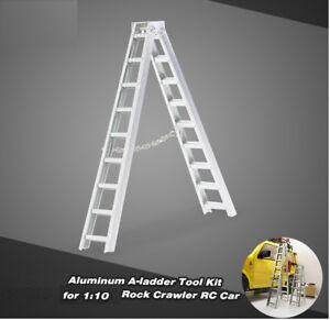 Scale Metal Mini Ladder Opening L.100mm Accessories R/C 1/10 1/8 HIMOTO
