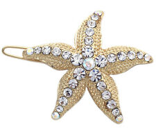 Wedding Bridesmaid Flower Girl Starfish Hair Clip Pin Teen Hair Accessory hp6g
