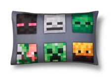 New Minecraft Reversible Pillowcase - Standard Size Twin Full Queen Sheets Kids