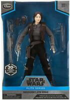 NEW Disney Elite Series Star Wars Sergeant Jyn Erso Premium Action Figure 10""