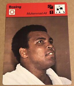 MUHAMMAD ALI Boxing Card 1977 SPORTSCASTER Japan NRMT
