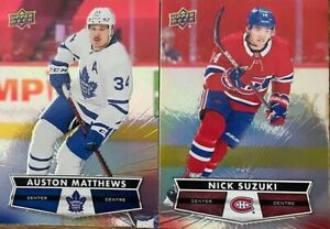 '21/22 2021/22 UD Upper Deck TIM HORTONS cards #1-125 *pick from list*