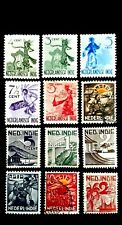 NETHERLANDS INDIA Great Assorted Old Mint & Used Stamps as Per Photo