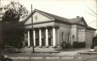 Valdosta GA Church c1930s Real Photo Postcard