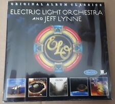 Electric Light Orchestra and Jeff Lynne - New 5CD Set - Pre Order - 14/9