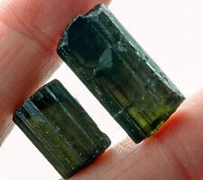 32.6Ct Natural Green Tourmaline Crystal Facet Rough Specimen YBGT1392