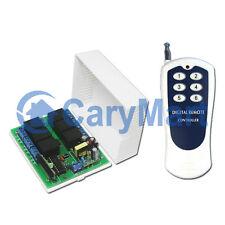 6 Canaux RF Interrupteur Télécommande Sans Fil Emetteur & Récepteur Kit 6 Modes