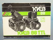Kiev 88 Anleitung book Heft booklet livre manual росси́йский russian - (41706)