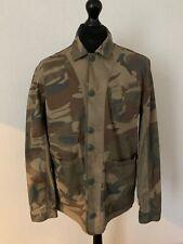 Pretty Green Camouflage Jacket Unworn Liam Gallagher Camo Size Medium RRP £135