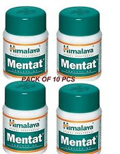 10 x Himalaya Mentat Herbal Tablets - Free Shipping - Lowest Price- Exprire-2019