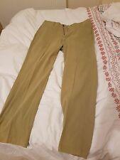 Ermenegildo Zegna Cotton Chino Trousers (32UK/48IT - Small) - Beige