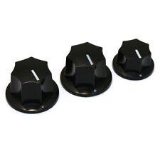 Knob Set for Import Fender/Squier Jazz/J Bass® Guitar 6mm Split Shaft JBK-IMP