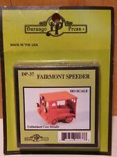 Durango Press DP-37 Fairmont Speeder      new  HO