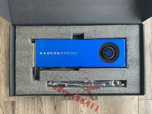 AMD Radeon Pro Duo 32GB Polaris Professional Dual GPU Graphic Card GDDR5