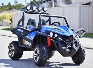 Oitek 24v 400w Kids Ride on Beach Buggy 4x4 remote control two seater