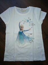 H&M Disney Frozen Eiskönigin T-Shirt Gr.134 140 top Zustand Elsa