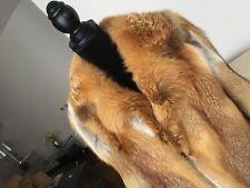 giacca pelliccia volpe rossa