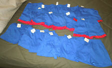 NEW (Lot of 5) Boys Girls Baby Shorts 2T Garanimals Blue & Reds (Made in USA)