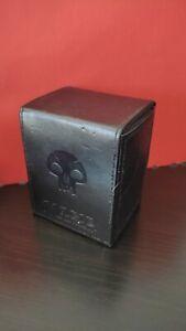 Ultra Pro MtG mattschwarz Alcove Mana Swamp Flip Deck Box Card Storage Case