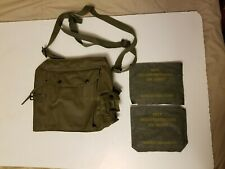 Vintage Military kit pack bag with decontamination cw agent  T.I.L 1972