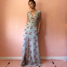 Reformation Pale Green Floral Maxi Dress bacc8efcf