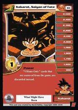 Dragon Ball Z Dragonball Z DBZ Kakarot Goku Lv1 Custom Made Card