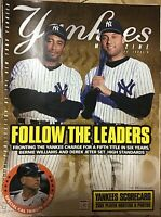 Yankees Magazine-Jeter/Williams w/Ripken Farewell Feature (Sept. 2001) RARE