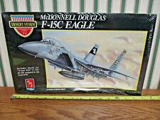 McDonnell Douglas F-15C Eagle Desert Storm Model Kit By Ertl/AMT 1/72nd Scale >