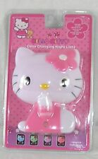 Hello Kitty Night Light LED Color Changing UL Listed Sanrio 2007