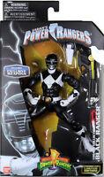 Power Rangers Legacy ~ METALLIC BLACK RANGER ACTION FIGURE ~ Bandai