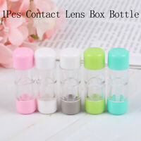 Contact Lens Plastic Box Bottle Objective Travel Portable Case Storage Container